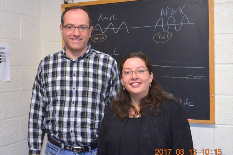 Drs. Tim McNellis (L) and Carla Garzón (R) | Image: Nancy Wenner, Penn State University