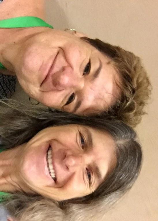 Drs. Teresa Coutinho (L) and Carolee Bull (R) | Image: Carolee Bull, Penn State University