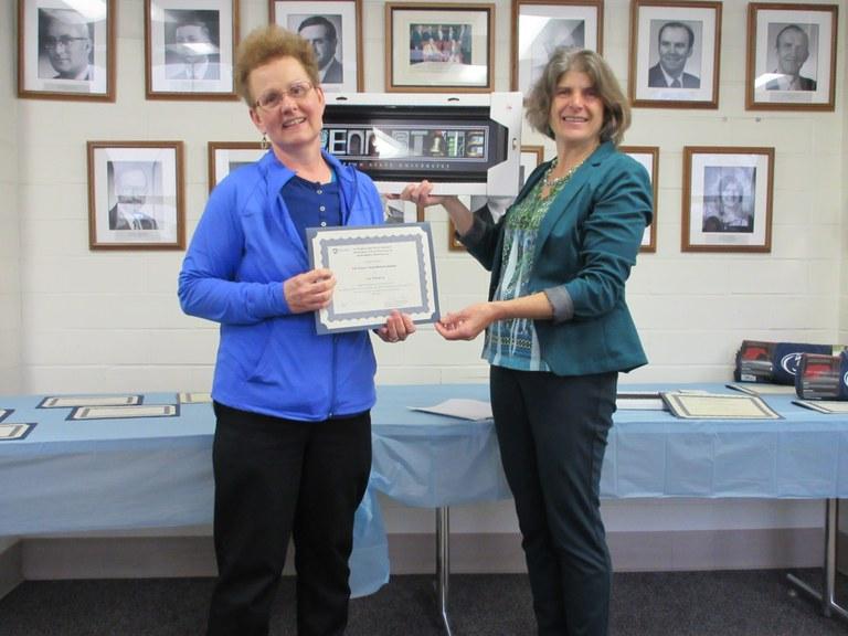 Vija Wilkinson (L) and Carolee Bull (R) | Image: Christina Dorsey, Penn State