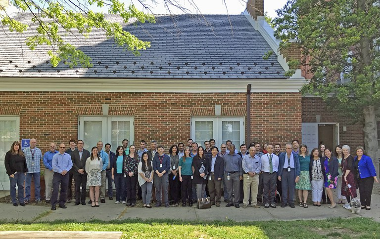 Attendees at the Taxonomy of Bacteria and Fungi seminar in Beltsville, Md on May 9, 2018. (Image: Gloria Abad/APHIS)