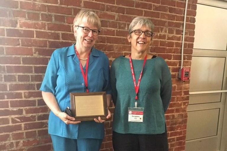 Drs. Brenda Wingfield (L) and Georgiana May (R) | Image: Brenda Wingfield, FABI